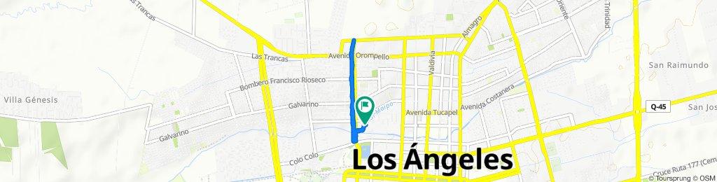 Tucapel, Los Ángeles to Tucapel, Los Ángeles