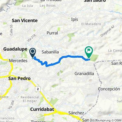 Restful route in La Union