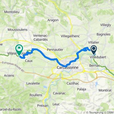 canal du midi villesequelande-villehubert 23 km