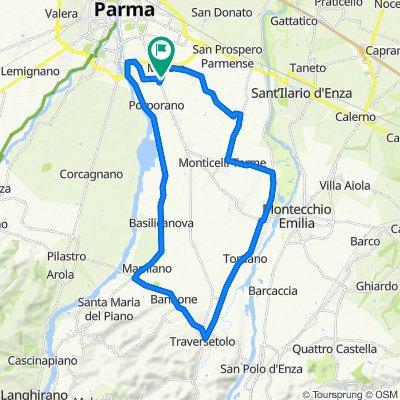 Sgambatina fuori Parma