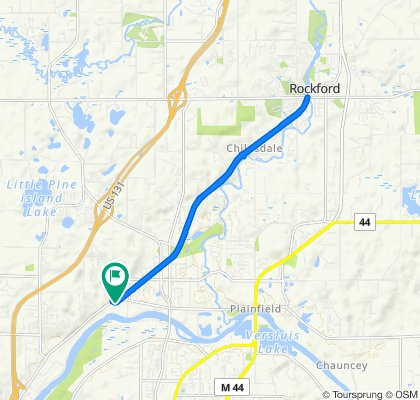 Restful ride in Plainfield charter Township