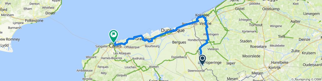 To Calais Ferry