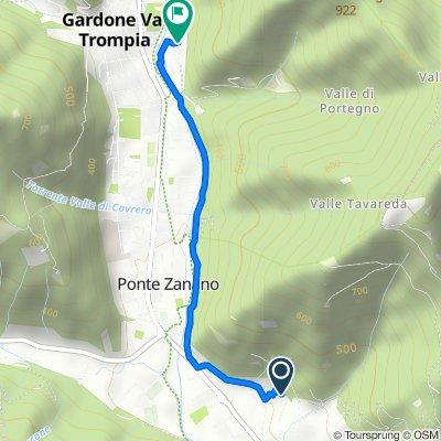 Giro a velocità costante in Gardone Val Trompia
