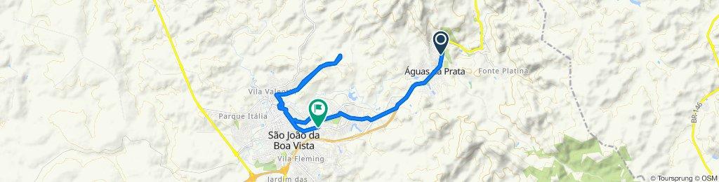 Avenida Washington Luís, Águas da Prata to Avenida Doutor Durval Nicolau, 785, São João da Boa Vista