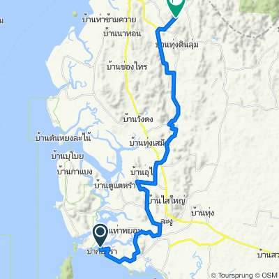 Steady ride in Tambon Thung Wa