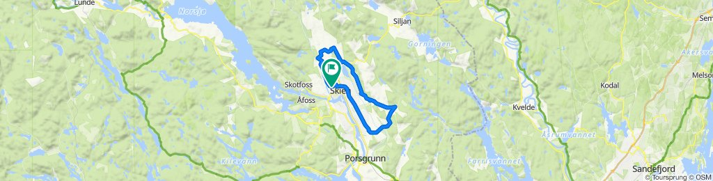 Skagerak arena - Løberg t/r