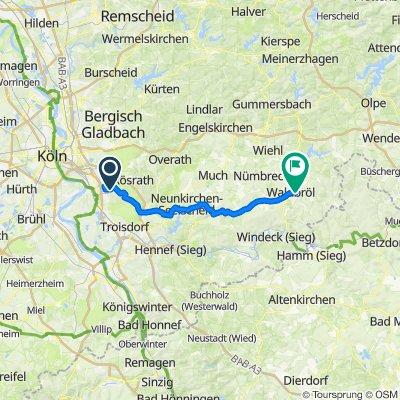 Flughafen Köln/Bonn - Waldbröl