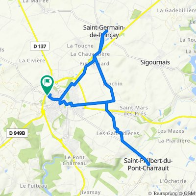 49 Rue Parmentier, Chantonnay to 49 Rue Parmentier, Chantonnay
