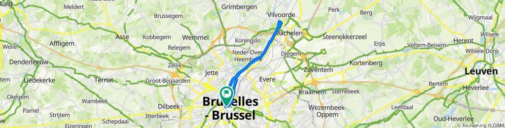 Bruxelles au fil de la Senne