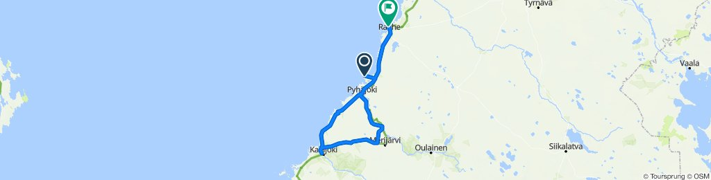 Training 123 km H-1 - Kal - Raa