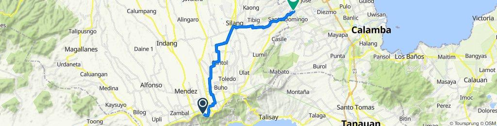 General Emilio Aguinaldo Highway, Tagaytay  City to , Santa Rosa City