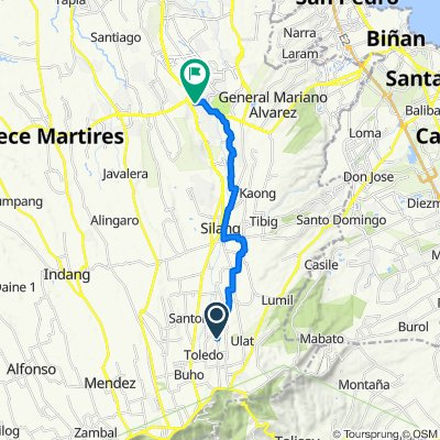Slow ride in Dasmariñas
