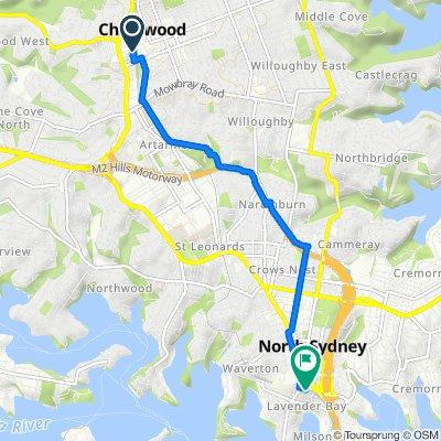 Chatswood - North Sydney