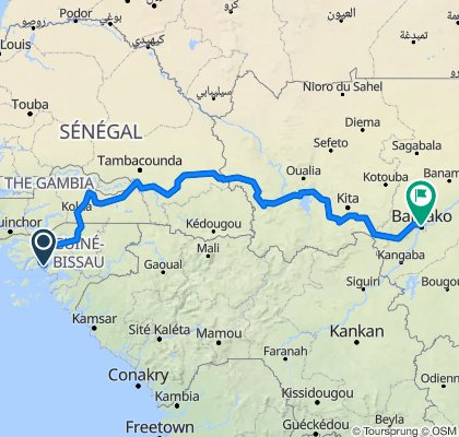 Bissau - Bamako