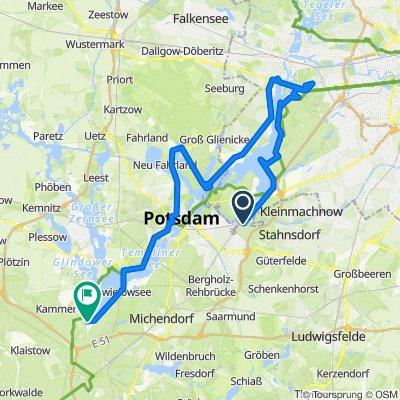 2018 Wzdłuż Haweli przez Berlin i Poczdam