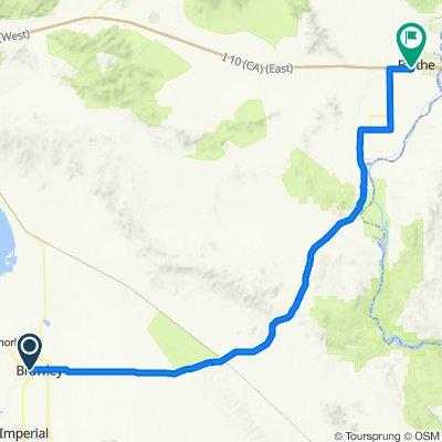2020 SW US Tour - Brawley to Blyth - Ride Day 4