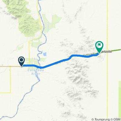 2020 SW US Tour - Blyth to Quartzsite - Ride Day 5