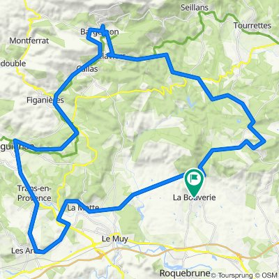 Bagnols-en-Forêt Radfahren