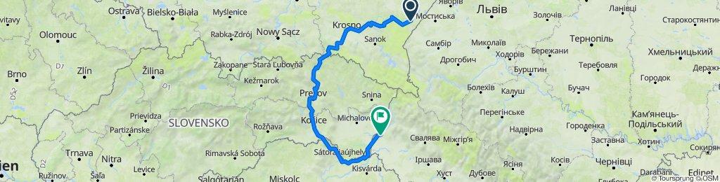 ВелоПоход 2020 (Пшемышль - Ужгород)