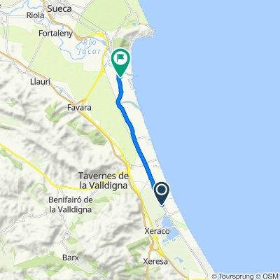 Itinéraire sportif en Cullera
