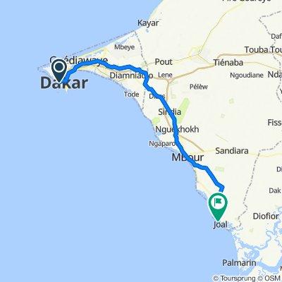 Dakar to Joal