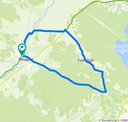 Tour de Tuomikylä 27 km