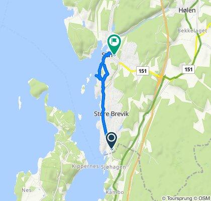 Holmenveien 16 to Løkkeveien 13