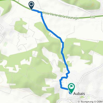 Itinéraire facile en Aubais