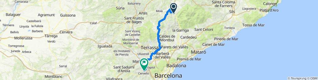 Centelles - La Palma de Cervelló
