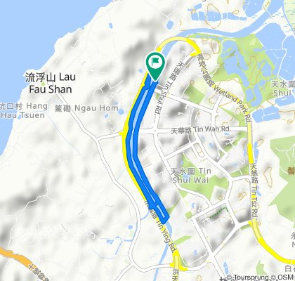 Tin Shui Path, Tin Shui Wai to Tin Shui Path, Tin Shui Wai