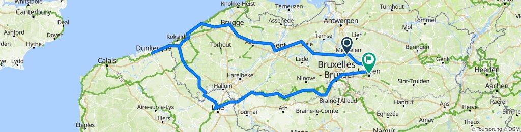 Belgijska krožna tura