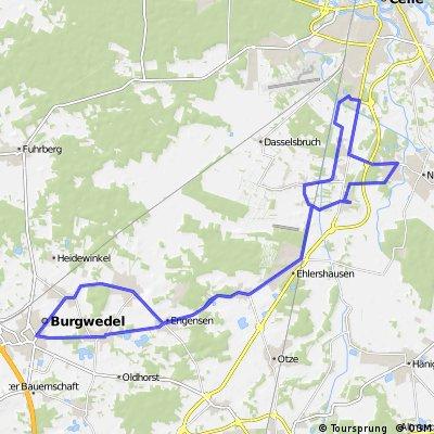 Trainingsrunde Nienhorst-Burgwedel-Celle
