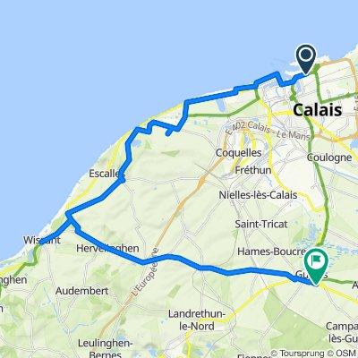 Calais toGuines