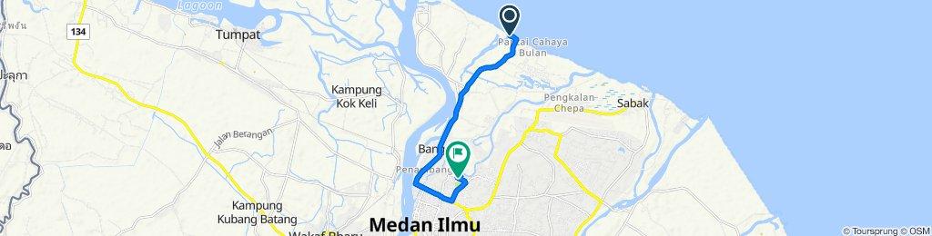 D1, Badang to Jalan Taman Tengku Ahmad Panglima, Kampung Teluk Chat