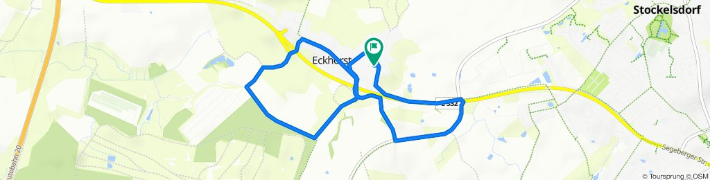 Entspannende Route in Stockelsdorf