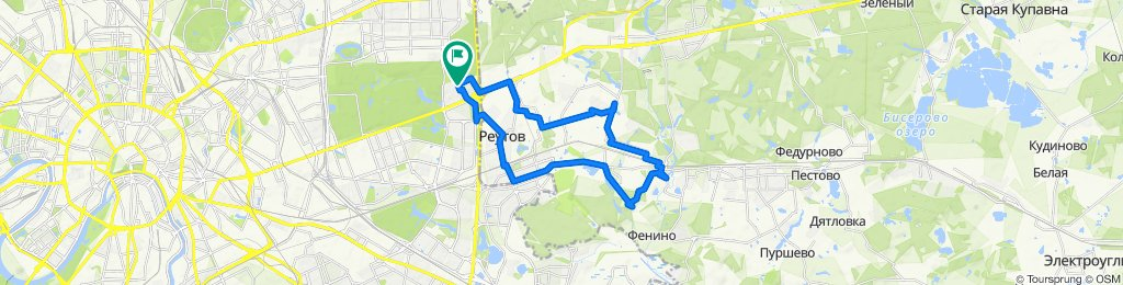 Зимние теплые сухие погожие велоездки Салтыковка (Северная и Южная) - Кучино 28 02 2020