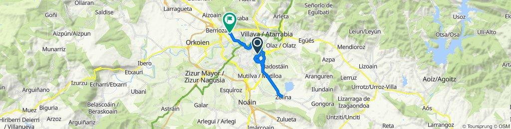 Ruta tranquila en Villava