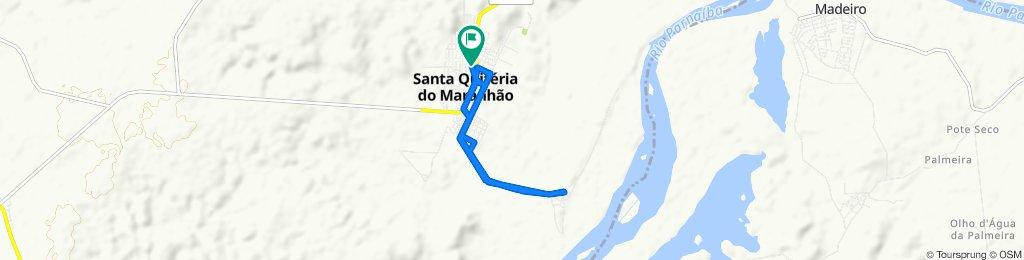 Rota relaxada em Santa Quitéria do Maranhão