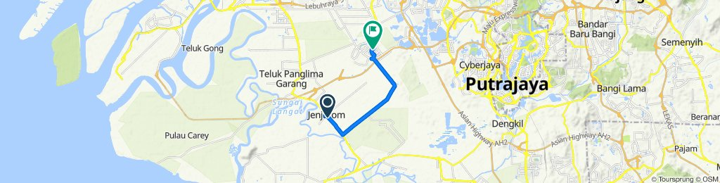 Slow ride in Tanjung Dua Belas