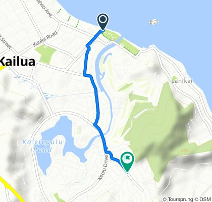 Steady ride in Kailua