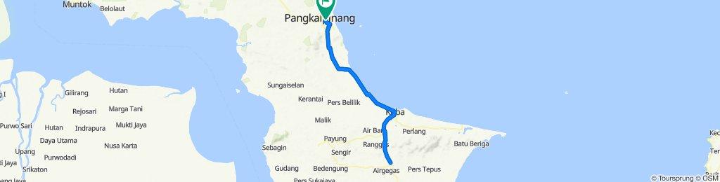 Sporty route in Bukit Intan