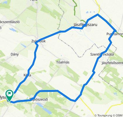 Slow ride in Sülysáp