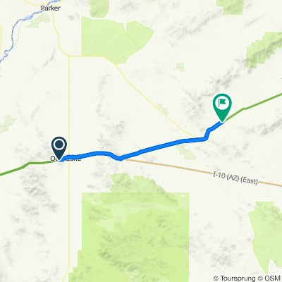 2020 SW US Tour - Quartzsite to Salome - Ride Day 6