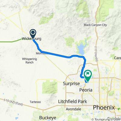 2020 SW US Tour - Wickenburg to Peoria - Ride Day 8