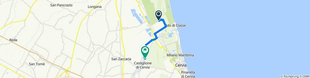 Giro semplice in Castiglione