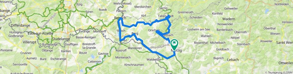 Merzig-Schengen-Remich-Mettlach