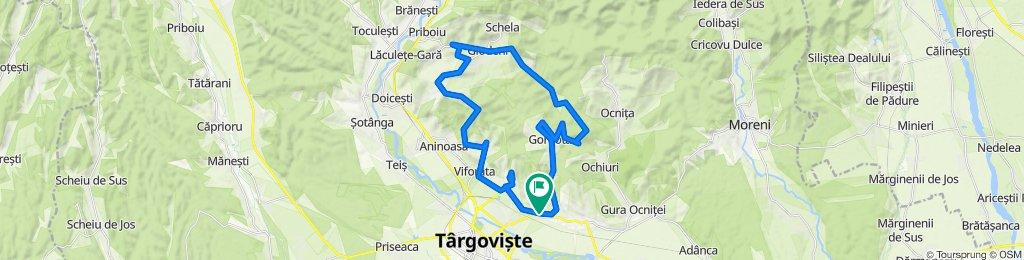 Traseu Targoviste