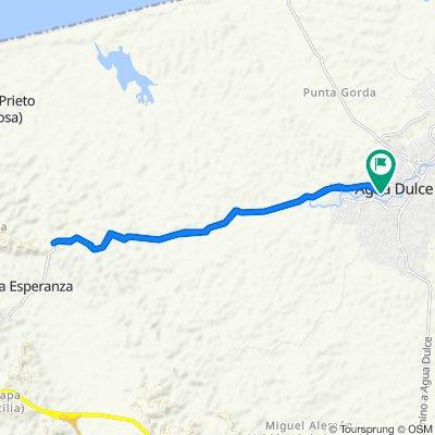 Calle Salamanca 98–100, Agua Dulce to Calle Francita 182, Agua Dulce