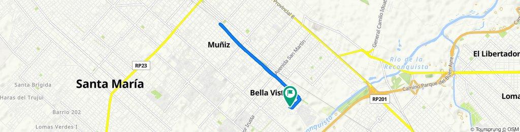 Ruta constante en San Miguel