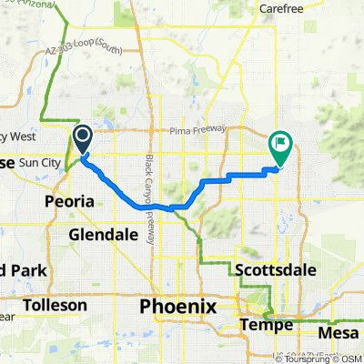 2020 SW US Tour - Peoria to Scottsdale - Ride Day 9